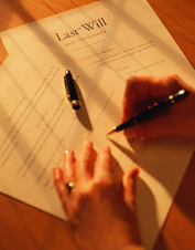 Last Will Signing - Will Preparation